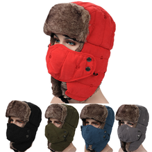 Winter Warm Fashion Windproof Outdoor Russian Ushanka hat Wholesale Stock Or Custom