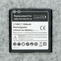 1500mAh Li-ion Mobile Battery For Samsung Galaxy S i9000