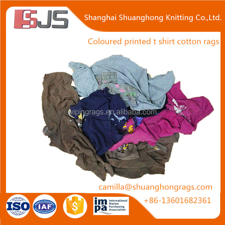 Wholesale second hand cloth rags for cleaning machine rags