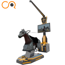Realistic horse appearance vr horse equipped with 4k vr headset with high quality vr games
