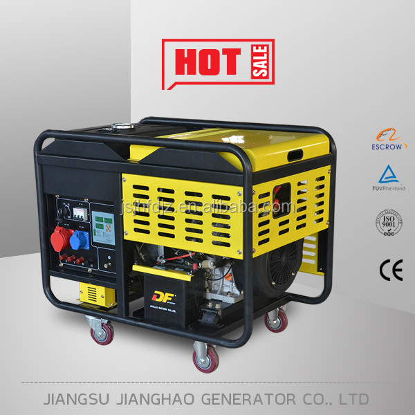 12kva silent diesel generator air cooled 10kw generator wholesale price