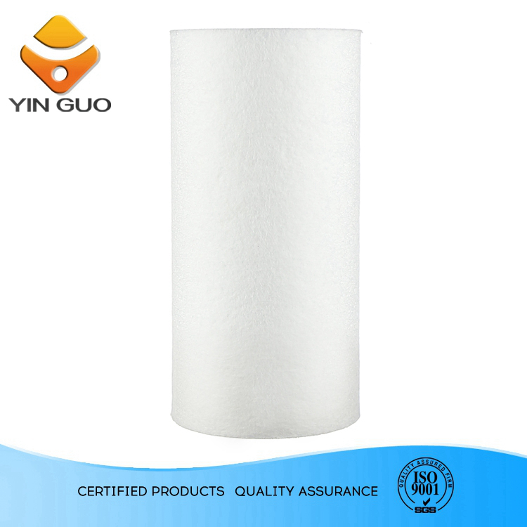 pond koi with colors plastic ring pp sediment filter cartridge rotary drum for glass filtration