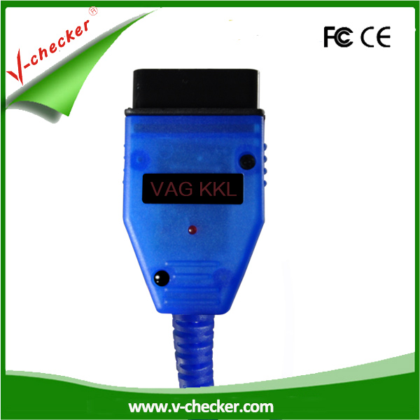 V-checker hot usb kkl vag-com for 409.1