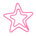 Custom logo metal star shape paper clip for scrapbooking