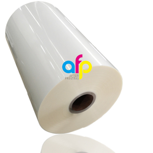 Hot Sale BOPP Plastic Roll Laminating Glossy Film for Paper Laminating