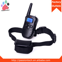 One dog remote control dog training collar, waterproof 1 dog training collar, contatc us if you want 2 dogs training system