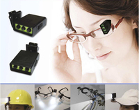 5mm safety goggles small battery book led portable reading light