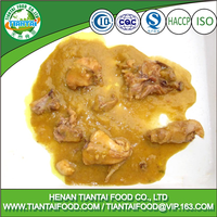 HALAL canned chicken picnic ham tin curry chicken