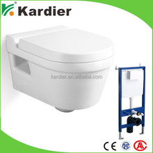 Top quality ceramic toilet wc sizes, western toilet, mobile toilet