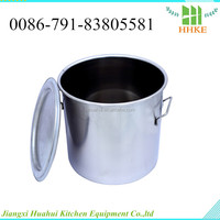 Small hammered stainless steel bucket pail ZK-1