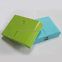 newest dual usb outports small power bank 12000mah for digital camera