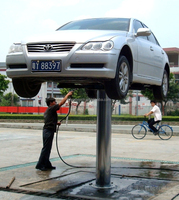 1 post hydraulic lift for car wash