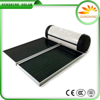 Hot Sale Unpressurized Rooftop Home Solar Systems Hot Drinking Water Heater