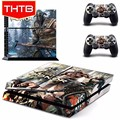 Game Vinyl Sticker Skin Cover for PS4 Console Controller