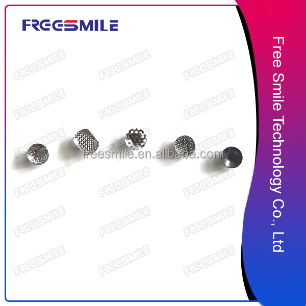 Wholesale Cheapest Price Orthodontic weldable lingual buttons bondable button for tight teeth protect