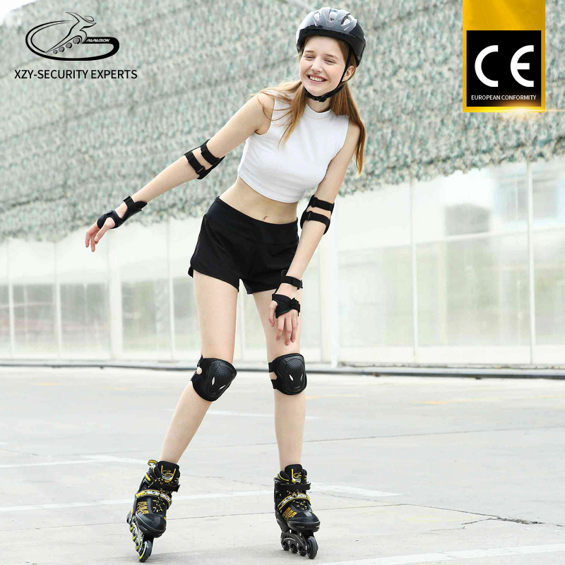 2017 New Design 4 PU Light Wheel OEM Professional Inline skates shoes for kids adults