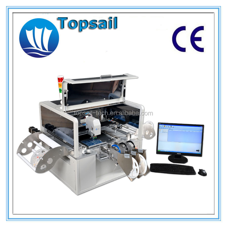 Topsail LED pick and place machine LED lamp manufacturing machinery SMD assemble line