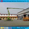 CE, ISO9001 and SGS 12m Best Price outdoor trailer aerial boom lift hydraulic man lift for sale