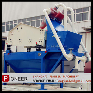 high efficiency fine sand recovery and fine sand recycling machine