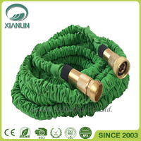 50 Feet Garden Hose / Expandable Hose with Brass Connectors and Sprayer, 2016 Version