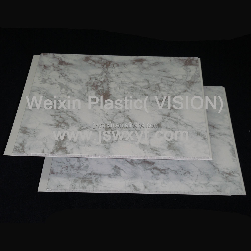 Printed marble design PVC Ceiling, PVC wall panel with high quality