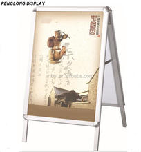 Double side a frame sign aluminum poster A board Snap Lock A1