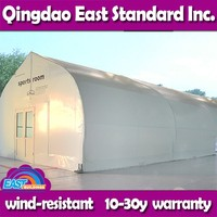 East Standard custom made agricultural fabric shelter
