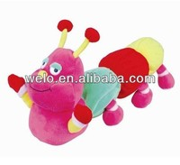 Plush Crawling Worm with music, electronic & movement plush toys