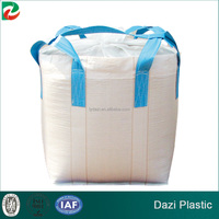 Plastic bulk packaging animal feed bag