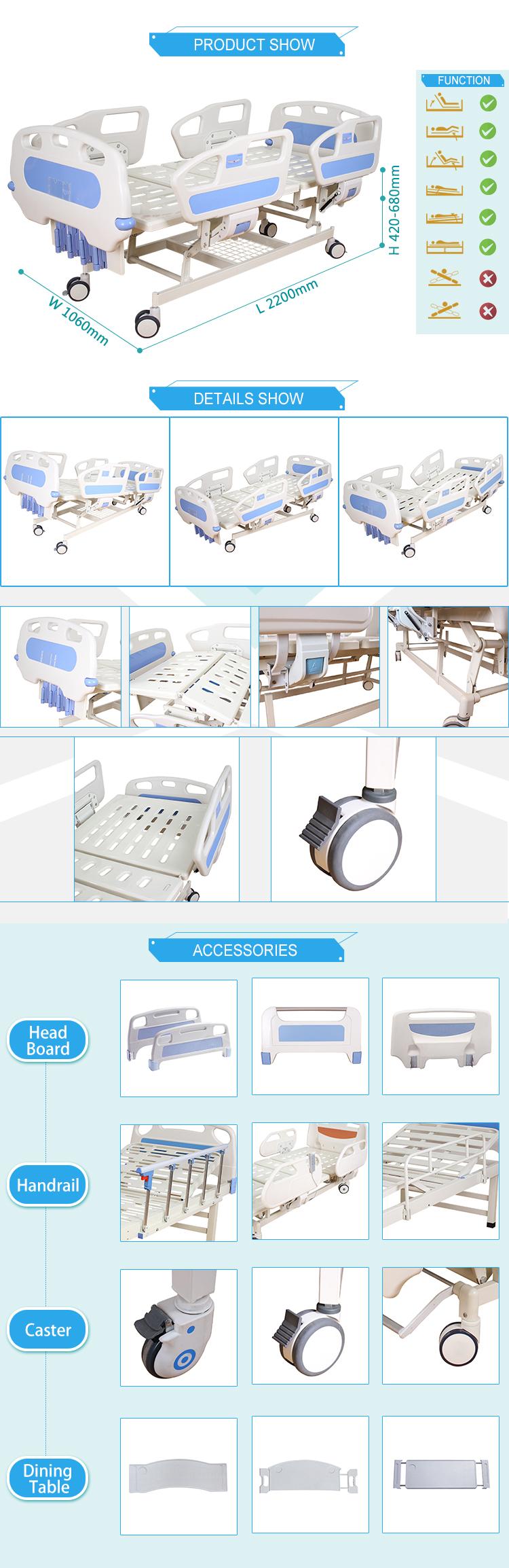 C11 Abs Headboard 4 Cranks Best Price Manual Medical Hospital Bed ...
