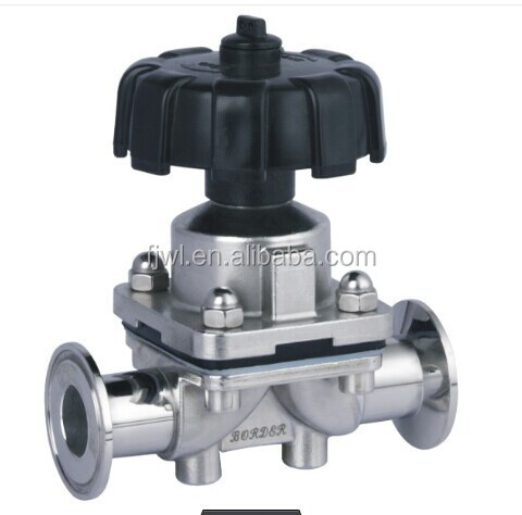China supplier Stainless steel Sanitary diaphragm Valve/alibaba