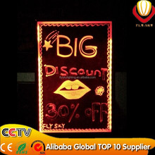 New Invention RGB LED Advertising Board/illuminated sign board/led writing board with good quality