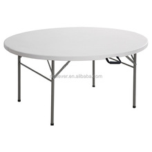 plastic round outdoor foldable table