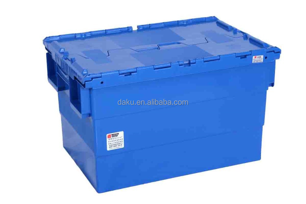Plastic Logistic Box with Lids