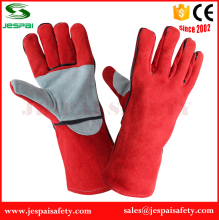 OEM Leather welding gloves job industrial