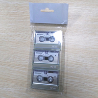Blank Audio Microcassette Tapes Shenzhen Factory, 60 Minutes, 3 Pack