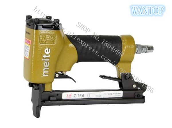 Pneumatic Nail Gun Air Stapler Tools Pneumatic  Nailer Gun 7116B