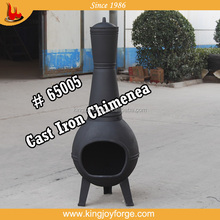 Outdoor Cast Iron Large Wood Burning Chiminea