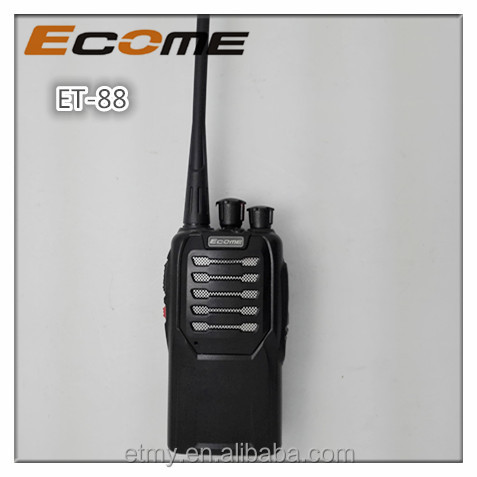 ECOME ET-88 quality assurance wireless handheld walkie talkie