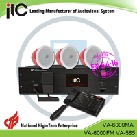 ITC VA-6000 Series LAN or WAN based Expandable Public Address System, Fire Alarm Voice Evacuation System