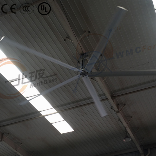 Low power consumption outdoor large industrial fan with best energy saving function