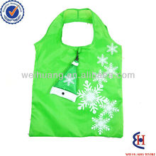 cheap recycle printed folding custom shopping bags
