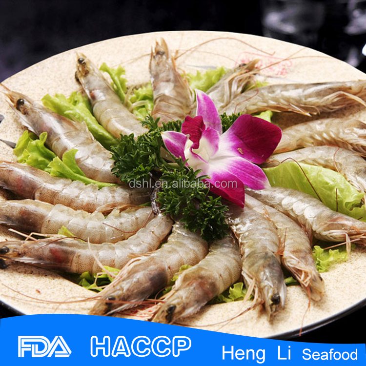 HL002 shrimp exporters wild caught frozen fresh vannamei white shrimp