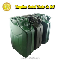 20 litre American style spout oil jerry can