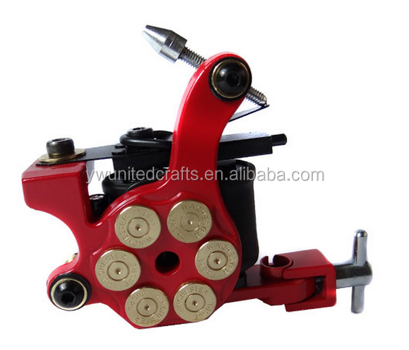 Precision Wire Cutting Machine Pure Handmade Luo's Brozne Tattoo Gun