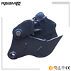 RSBM excavator mechanical tree cutter used in forest