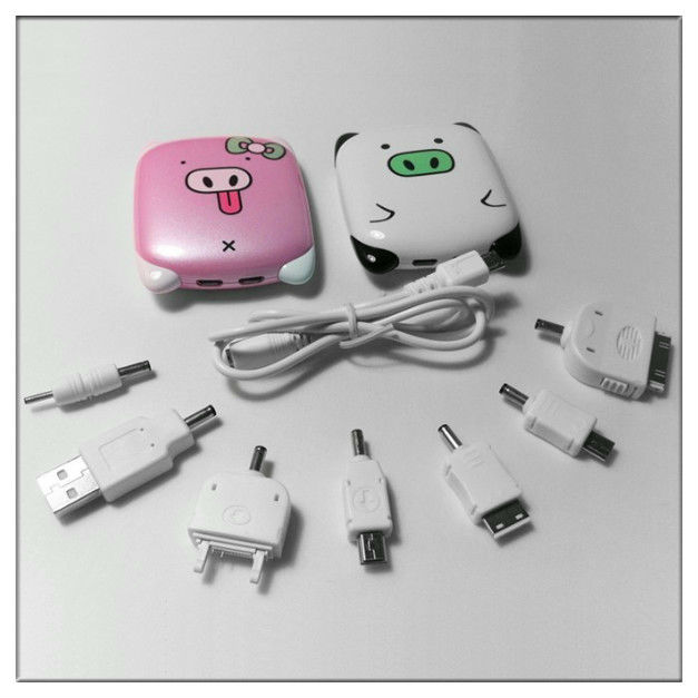 In stock cute expression Proprietary brand powerbank for mobile phone