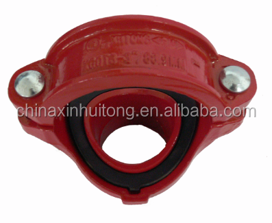 UL FM approved pipe fitting mechanical tee GROOVed/THREADED outlet