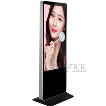 "Digital signage 55"" computer advertisement multitouch display"