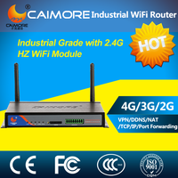 industrial 3G Wifi Router router 3g vpn server for Dvr Video Monitoring